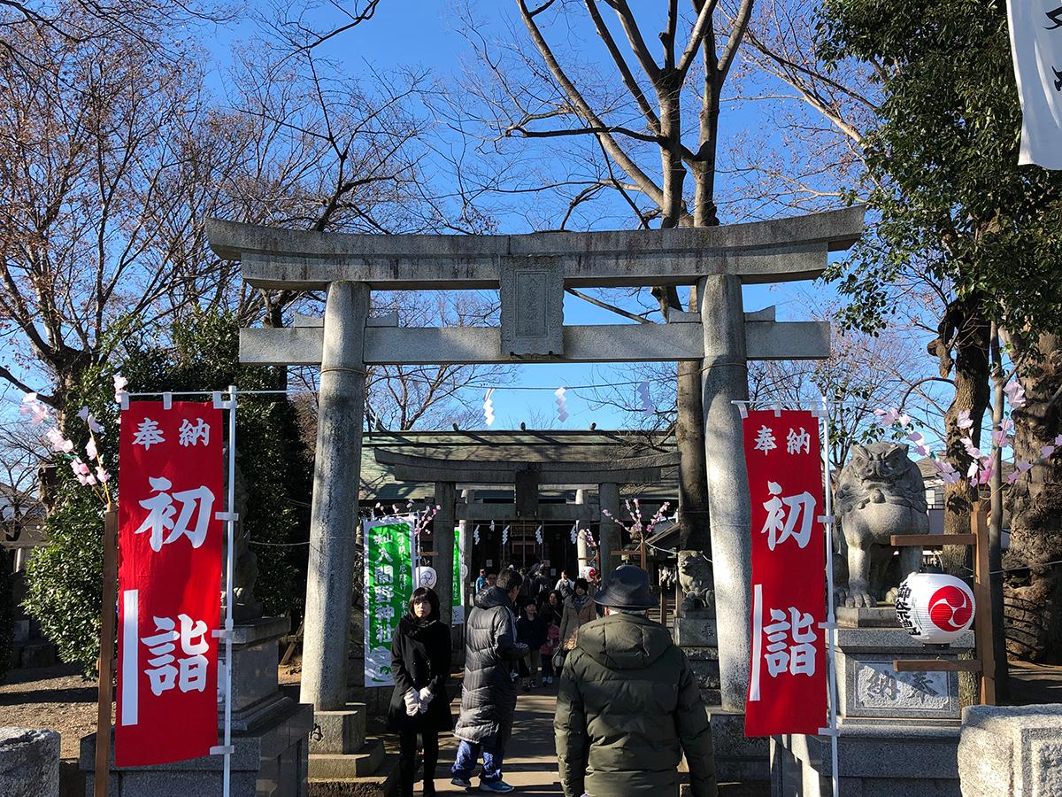 入間の神社