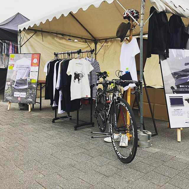 #biketokyo 出展中